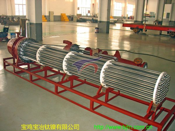 Titanium Tube Bundle for 20 Square Heat Exchanger