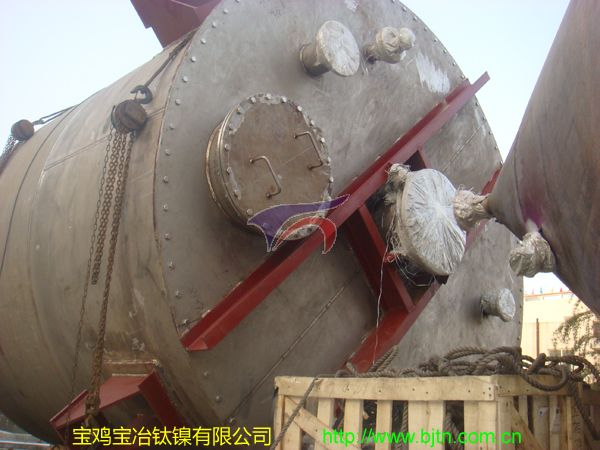 Ti Storage Tank Used in Cuastic Soda Plant